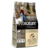 Pronature Holistic Сухой корм для пожилых и малоактивных собак всех пород Dog food SENIOR c океанической белой рыбой и диким рисом (2,72 кг)