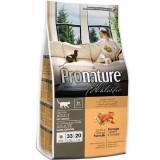 Pronature Holistic Сухой корм для взрослых кошек Cat food ADULT с уткой и апельсинами, без злаков (2,72 кг)