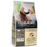 Pronature Holistic Сухой корм для малоактивных и пожилых кошек Cat food SENIOR с океанической белой рыбой и диким рисом (5,44 кг)