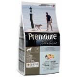 Pronature Holistic Сухой корм для взрослых собак всех пород Adult Atlantic Salmon&Brown Rice лосось и рис (340 г)