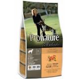 Pronature Holistic Сухой корм для взрослых собак всех пород Adult Duck&Orange с уткой и апельсинами (13.6 кг)