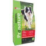 Pronature Original Сухой корм для взрослых собак всех пород Dog Lamb Peas & Barley с ягненком, горохом и ячменем  (11,3 кг)