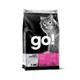 GO! Сухой корм для взрослых кошек и котят Daily Defence Chicken Recipe с цельной курицей, фруктами и овощами (100 г)