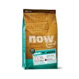 NOW FRESH Сухой корм для взрослых собак крупных пород Adult Large Breed Recipe с индейкой, уткой и лососем (11,34 кг)