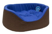 Compliment Лежак для собак ОЗЕРО двухцветный (размер:75х63х22см)