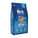 Brit Premium Cat Kitten (1,5 кг) сухой корм с курицей для котят всех пород