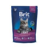 Brit Premium Cat Light  (800 г) сухой корм с курицей для взрослых кошек всех пород с избыточным весом