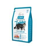 Brit Care Cat Tobby (2 кг) сухой корм с уткой и курицей для взрослых кошек крупных пород