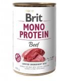 Brit Care влажный корм для собак Brit Mono Protein Dog k 400г Говядина