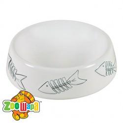 Trixie миска для кошек (керамика) 200 мл Ø 15 см