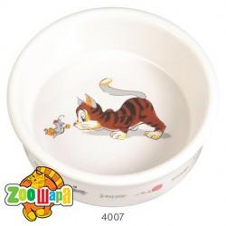 Trixie миска керамическая для котов 0,2 л Ø 11 см