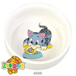 Trixie миска керамическая для кошек 0,3 л Ø 11 см