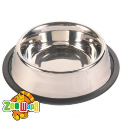 Trixie миска для собак (металл) на резине 1,75 л Ø 20 см