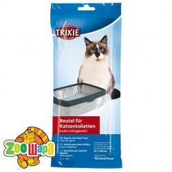 Trixie пакет для кошачьего туалета, 46x59 cм (10шт)