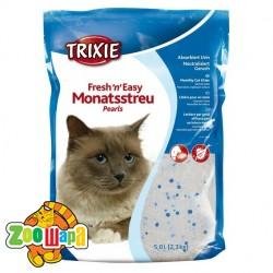Trixie песок наполнитель для кошек Fresh'n'Easy (в кристаллах) 5.0 л