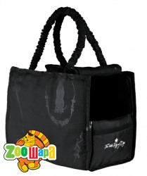 "Trixie сумка-переноска для собак ""King of Dogs"" 21х30х41 см, чёрный"