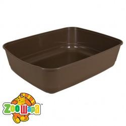 Trixie туалет для кота коричневый (пластик) 36х12х46 см