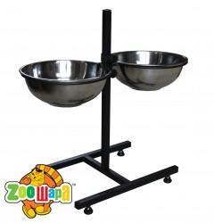 Мистер ГаФФ подставка с мисками для кормления собак 2,4 л