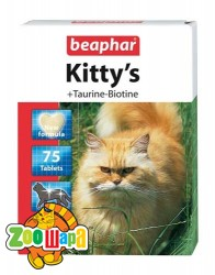 Beaphar (Беафар) Kitty's Taurine+Biotine 75 табл