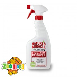 Nature`s Miracle уничтожитель запаха кошачьих меток и мочи, спрей, 709 мл