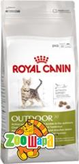 Royal Canin (Роял Канин) Сухой корм для активных кошек Outdoor (400гр)