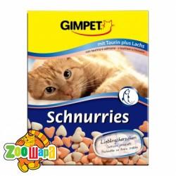 Gimpet Schnurries сердечки 650 таб лосось