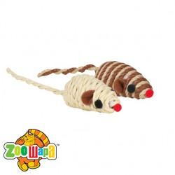 Trixie Набор мышей плетёных, 5 см (уп-132 шт)