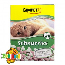 Gimpet Schnurries сердечки 650 таб ягненок