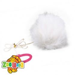 Trixie мяч (плюш) на шнуре 7 см