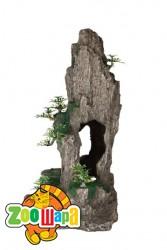 Trixie Декоративная скала с растениями
