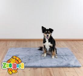 Trixie Термоковрик нескользящий для собак (75х70 см) серый