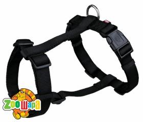 """Trixie Шлея для собак """"Premium"""" (размер L-XL: 75-100 см / 25 мм) черная"""
