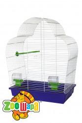 Їжачок! Клетка №10 для средних попугаев, купол, 50*28*63