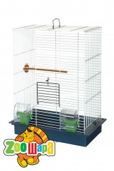 Їжачок! Клетка №11 для двух волнистых попугаев, 39*22*52