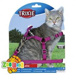 "Trixie - Шлея с поводком ""Cat One Touch"""