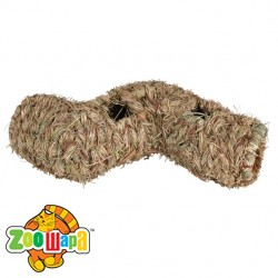 Trixie Тоннель плетёный (сено) 60х15х10 см