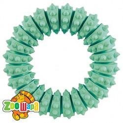 Trixie Кольцо резиновое с шипами (мята) 12 cм
