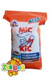 МиС КиС древесный наполнитель для кошачьих туалетов 3 кг (13 л)