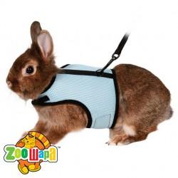 "Trixie - Шлея с поводком для кролика ""Soft Harness"""