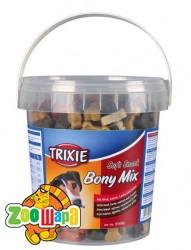 Trixie лакомства BonyMix (говядина,ягнёнок,лосось,курица) 500 гр