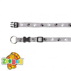 "Trixie - Ошейник для собак светоотражающий ""Silver Reflect Collar""  размер L-XL"