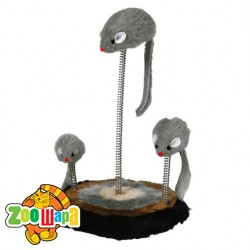 Trixie Семья мышей на пружине и подставке
