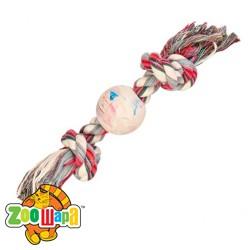 Trixie Резиновый мяч с кистями 36/7,5 см