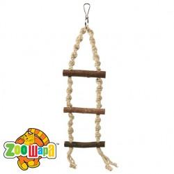 Trixie Лесенка (веревка+дерево) 85 см