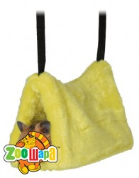 Trixie Подвесной гамак (плюш) д/хомяка 9х16х12 см