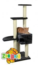 "Trixie домик для кота ""Alicante"" антрацит 142 см"