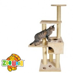 "Trixie домик  для кота ""Alicante"" бежев.142 см"