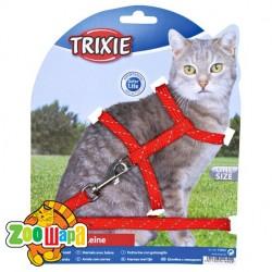 "Trixie Шлея с поводком для кошек ""Cat Harness Reflecting"""
