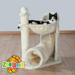 """Trixie домик для кота """"Gandia""""68 см (длинный ворс) кремовый"""