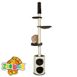 """Trixie домик для кота Linea """"225-265 см, корич."""